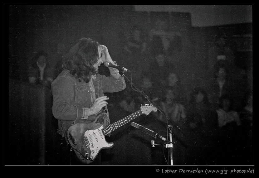 Photo de Lothar Dornieden - Münster, Allemagne, 28 avril 1982 Rory-gallagher-02