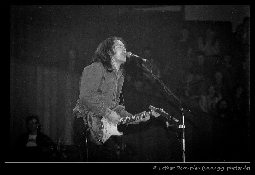 Photo de Lothar Dornieden - Münster, Allemagne, 28 avril 1982 Rory-gallagher-14